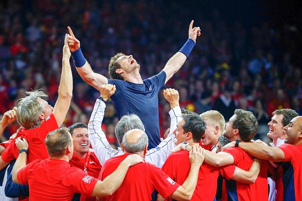 Andy Murray Great Britain Davis Cup Final 2015