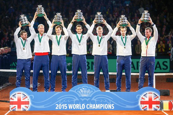 2015 Great Britain Davis Cup Champions