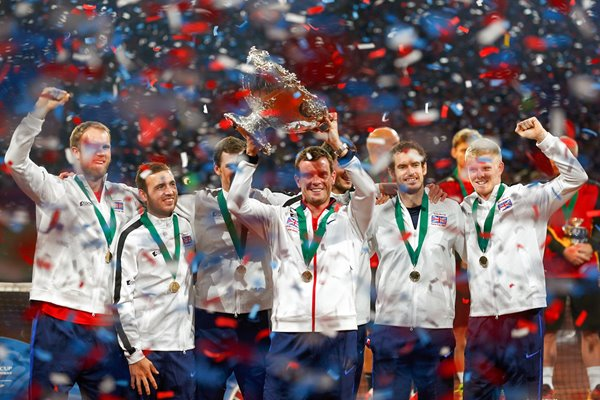 Leon Smith Great Britain Davis Cup Winning Captain 2015