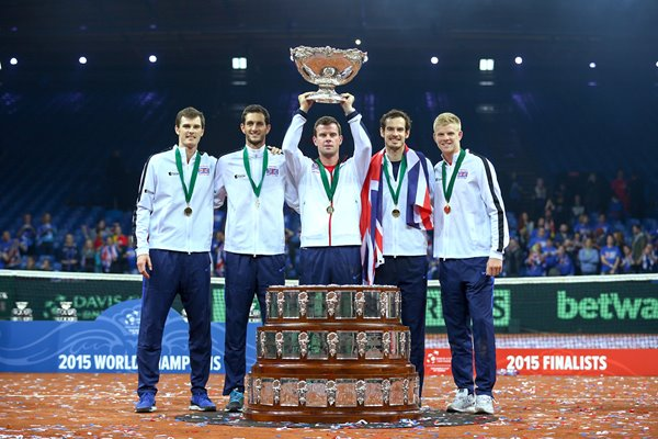 Great Britain Davis Cup Champions 2015