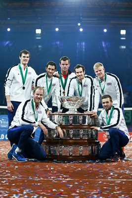 Great Britain Davis Cup Champions Ghent 2015