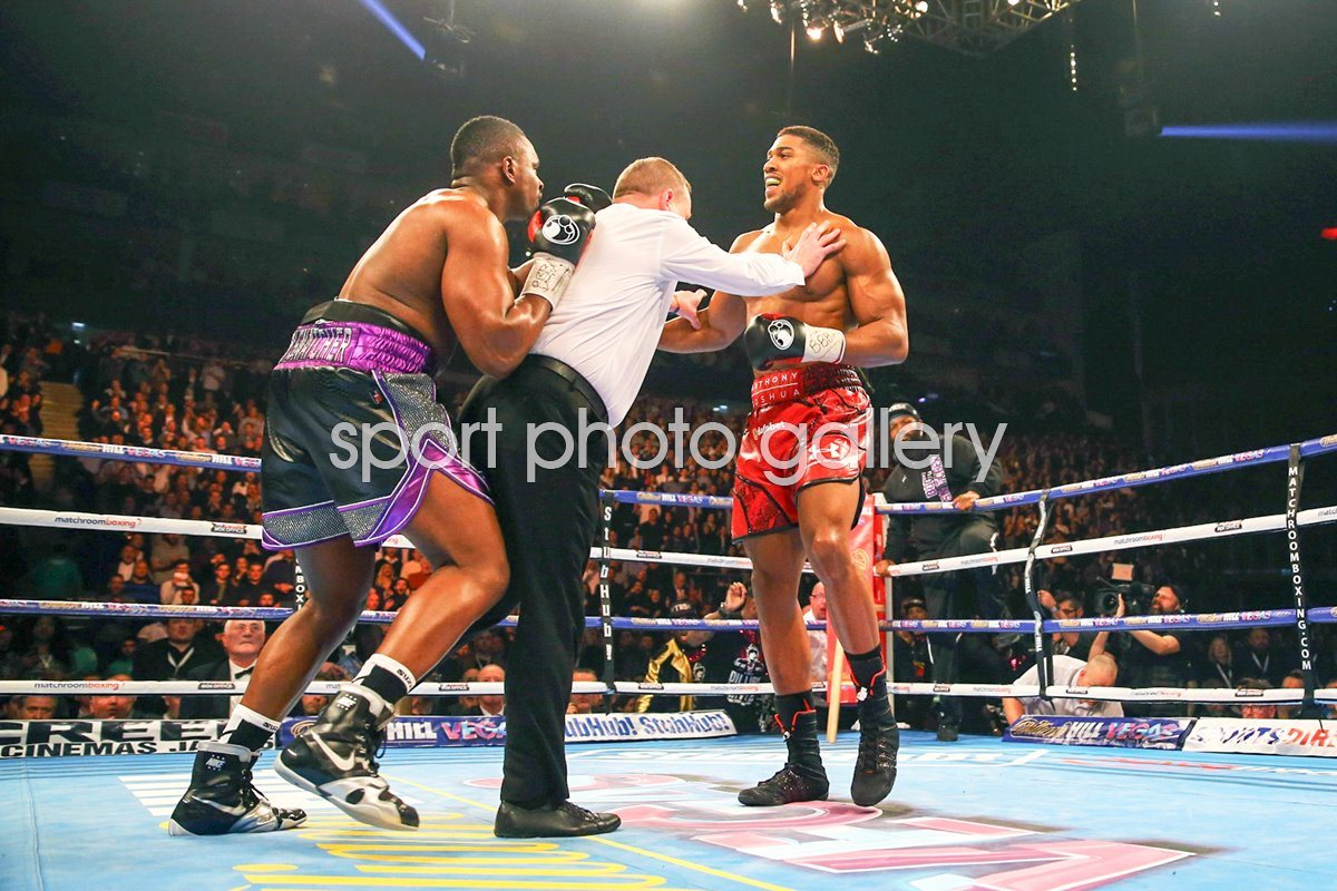 Anthony Joshua v Dillian Whyte Trouble at the Bell 2015