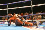Anthony Joshua knocks out Dillian Whyte London 2015 Prints