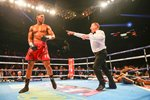 Anthony Joshua knocks out Dillian Whyte London 2015 Frames