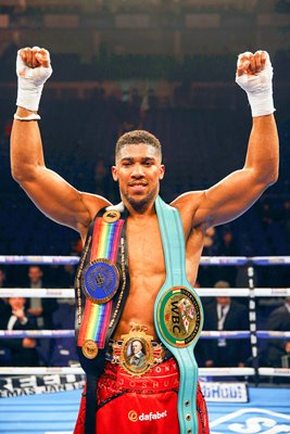 Anthony Joshua British & Commonwealth Heavyweight Champion 2015