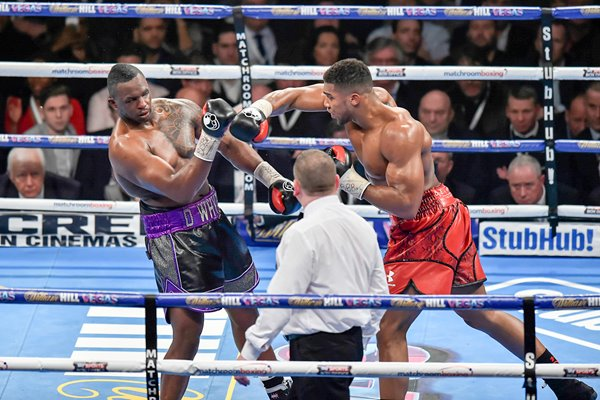 Anthony Joshua knocks out Dillian Whyte London 2015