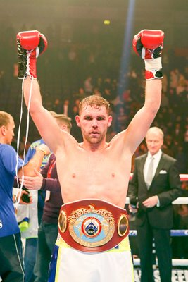 Billy Joe Saunders WBO World Middleweight Champion 2015