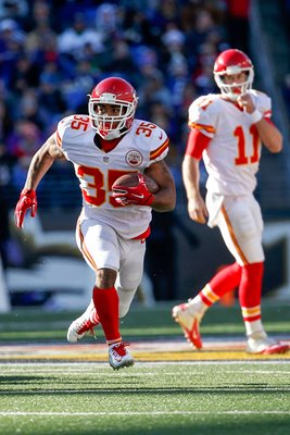 Charcandrick West Kansas City Chiefs v Baltimore Ravens 2015