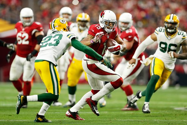 Michael Floyd Arizona Cardinals v Green Bay Packers