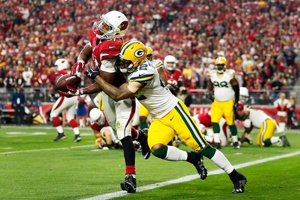 David Johnson Arizona Cardinals v Green Bay Packers