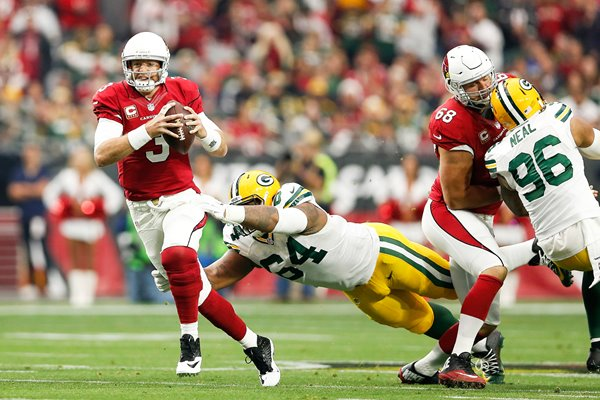 Carson Palmer Arizona Cardinals v Green Bay Packers