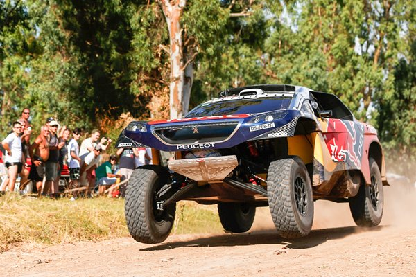 Sebastien Loeb Peugeot 2016 Dakar Rally Prologue