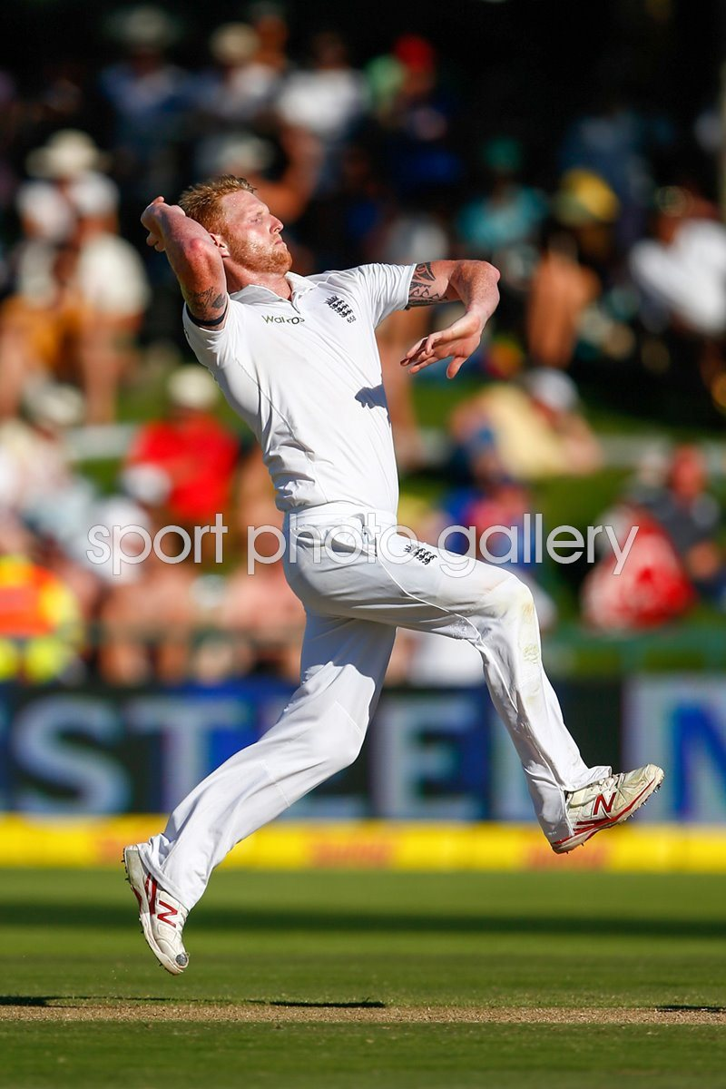 Ben Stokes England v South Africa Cape Town 2016