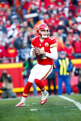 Alex Smith Kansas City QB v Oakland Raiders 2016