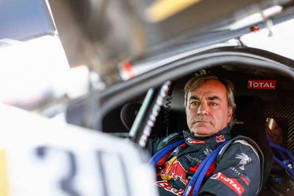 Carlos Sainz Team Peugeot 2016 Dakar Rally