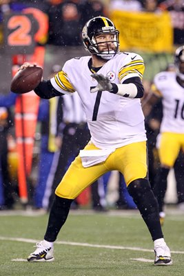 Ben Roethlisberger Pittsburgh Steelers v Bengals 2016