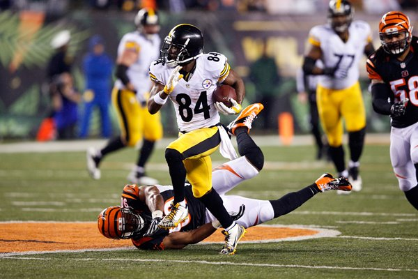 Antonio Brown Pittsburgh Steelers v Bengals 2016