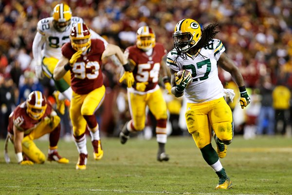 Eddie Lacy Green Bay Packers v Redskins FedEx Field 2016