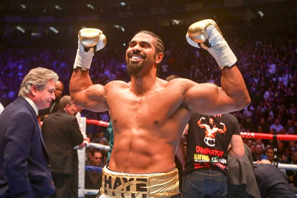 David Haye knocks out Mark De Mori O2 Arena 2016