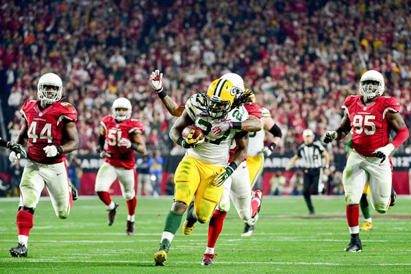 Eddie Lacy Green Bay Packers v Arizona Cardinals