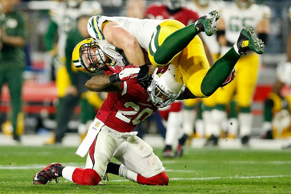John Kuhn Green Bay Packers v Arizona Cardinals