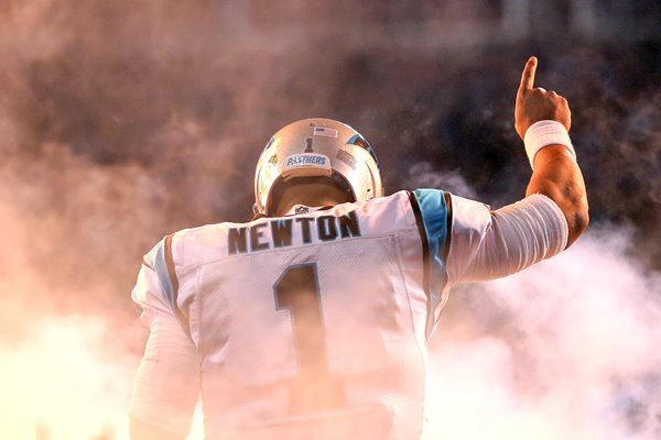 Cam Newton Carolina Panthers NFC Champions 2016