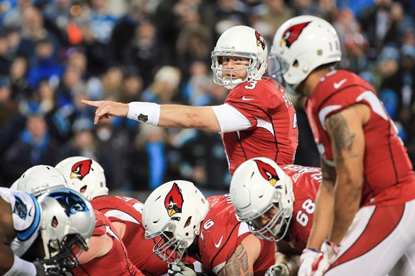 Carson Palmer Arizona Cardinals v Carolina Panthers 2016