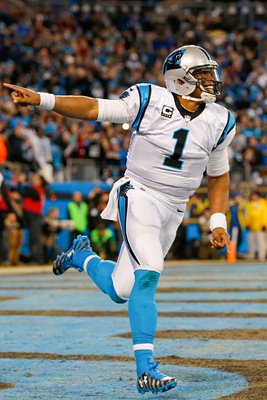 Cam Newton Carolina Panthers Touchdown Charlotte 2016
