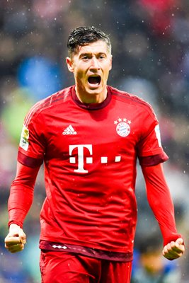 Robert Lewandowski Bayern Munchen celebration