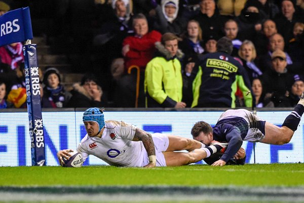Jack Nowell England try Scorer Scotland 6 Nations 2016