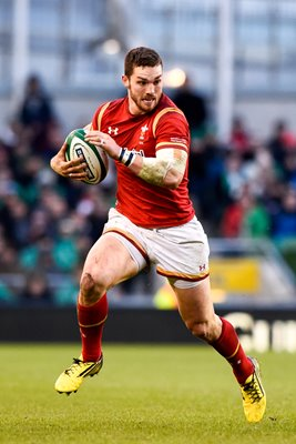 George North Wales v Ireland 6 Nations Dublin 2016