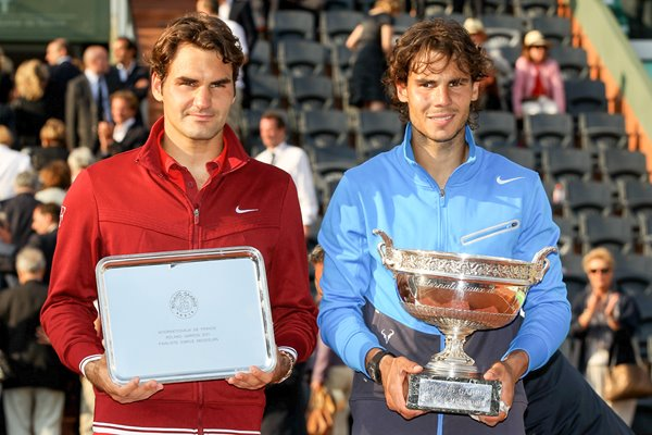 Federer and Nadal 2011 French Open