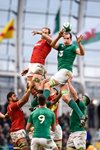 Devin Toner Ireland v Wales 6 Nations Dublin 2016 Prints