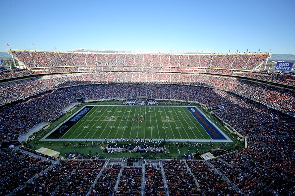 Levi's Stadium Santa Clara Super Bowl 50 Panthers v Broncos