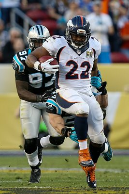 C.J. Anderson Denver Broncos v Panthers Super Bowl 50