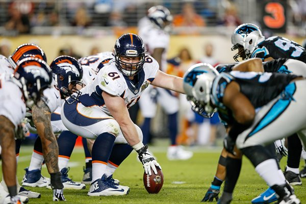 Matt Paradis Denver Broncos v Carolina Panthers Super Bowl 50