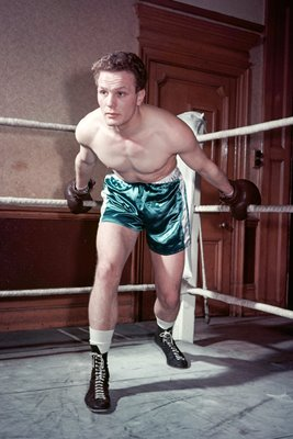 Henry Cooper in training 1960