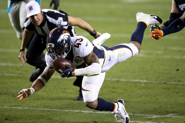 TJ Ward Denver Broncos Fumble Recovery Super Bowl 2016