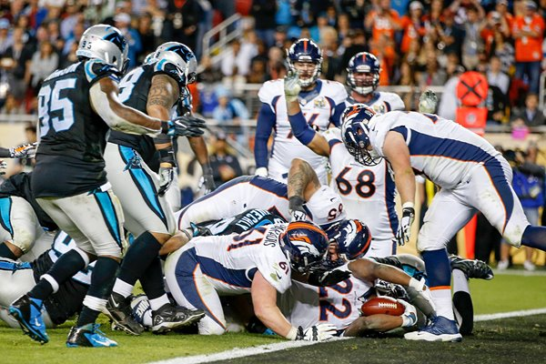 C.J. Anderson Denver Broncos Touchdown Super Bowl 50