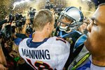 Peyton Manning & Cam Newton Super Bowl 2016 Quarterbacks Prints