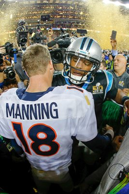 Peyton Manning & Cam Newton Super Bowl 2016 Quarterbacks