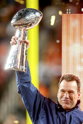 Gary Kubiak Denver Broncos Head Coach Super Bowl 50 2016