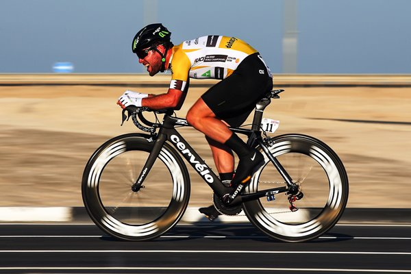 Mark Cavendish Tour of Qatar Time Trial 2016