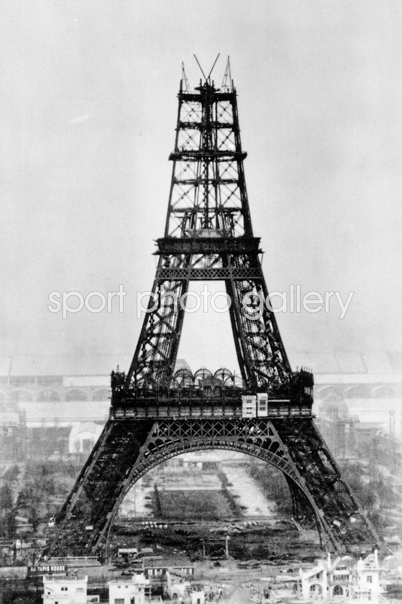 Eiffel Construction under construction