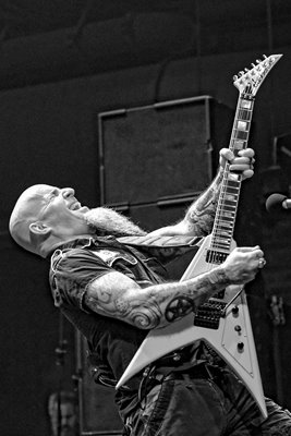 Scott Ian Anthrax Brooklyn Bowl Las Vegas 2016