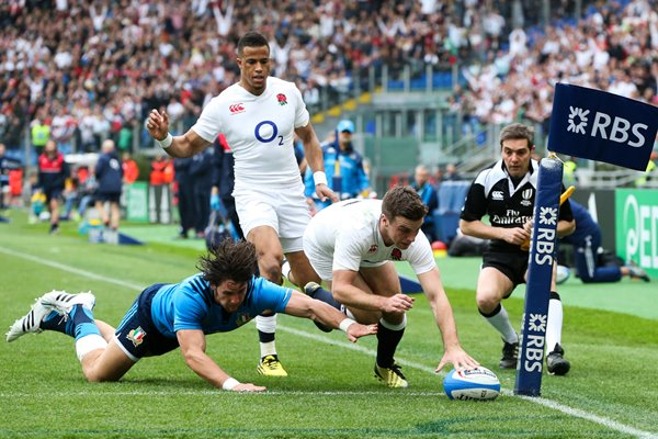 George Ford England scores v Italy Rome 2016