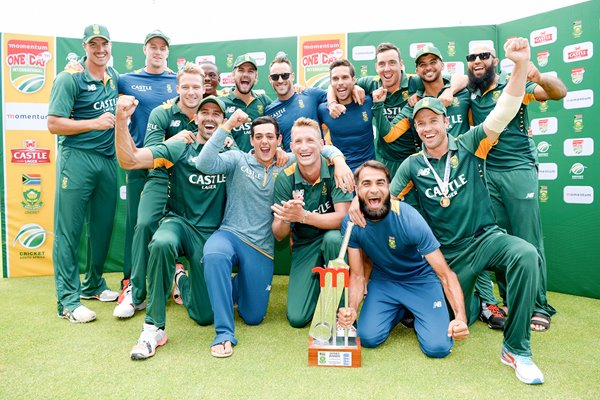 South Africa ODI Series win v England Cape Town 2016