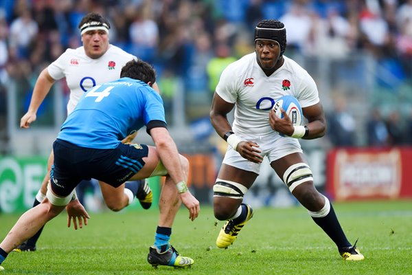 Maro Itoje England v Italy Six Nations 2016