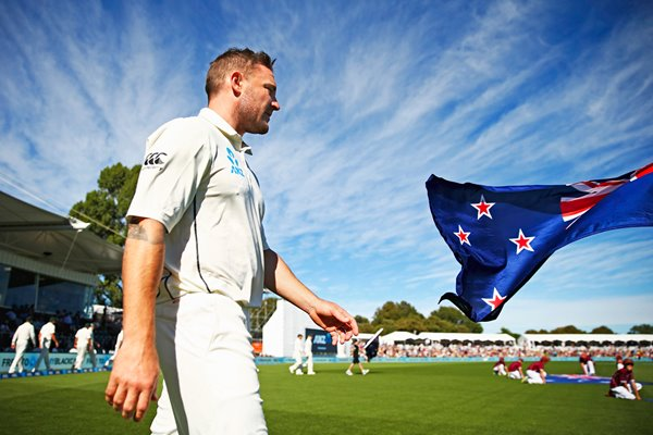 Brendon McCullum New Zealand v Australia 2016