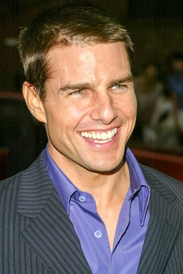 "Tom Cruise at the Premiere Of ""Collateral"""